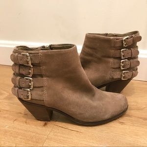 Sam Edelman Suede Ankle Boots / Lucca Booties 6.5